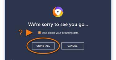[Guía] Como Desactivar y Desinstalar Avast Secure Browser
