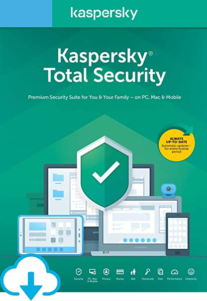Funciones de kaspersky total Security