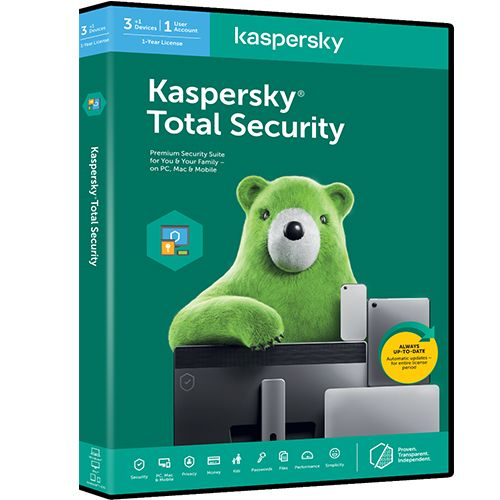 Características de kaspersky total Security