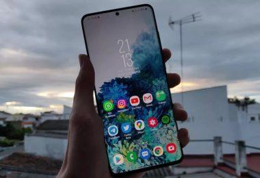 Características y Opiniones del Samsung Galaxy s20+ 5G